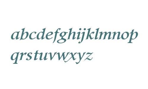Footlight MT W04 Italic