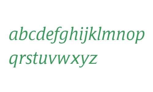 Campan W03 Regular Italic