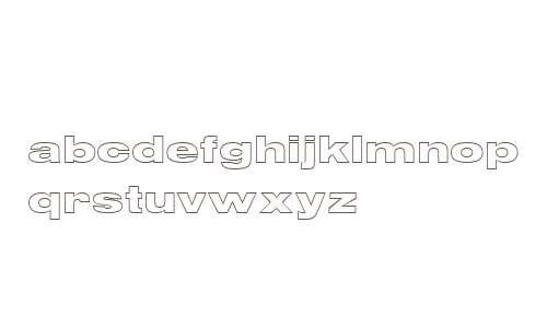 Nimbus Sans OutDW01BlaExt