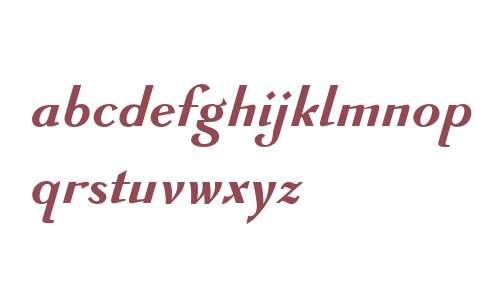 GHEA Avandakan W10 Bold Italic