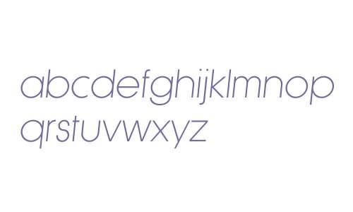 Klef W01 Light Oblique
