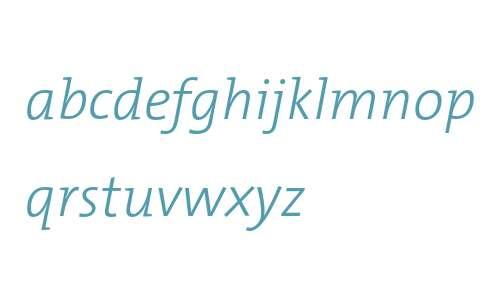 TheMix Light Italic