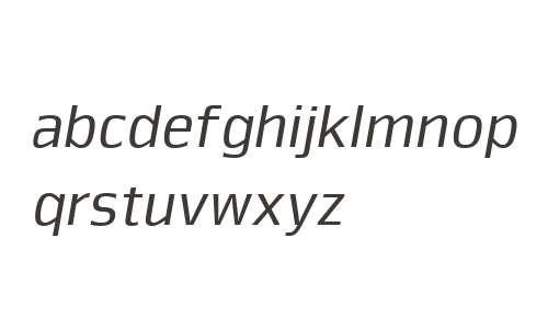 Nuri W00 Regular Italic