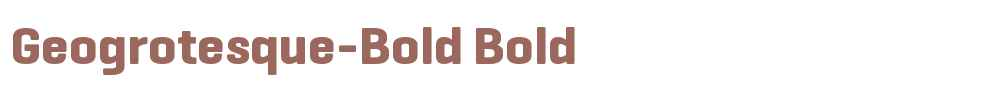 Geogrotesque-Bold