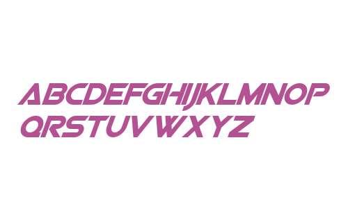 Viper Squadron Solid Italic V2