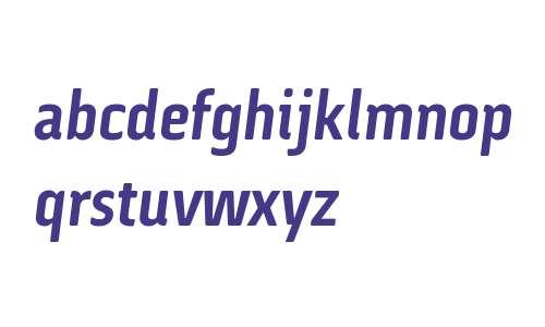 Via Sans W03 Bold Italic