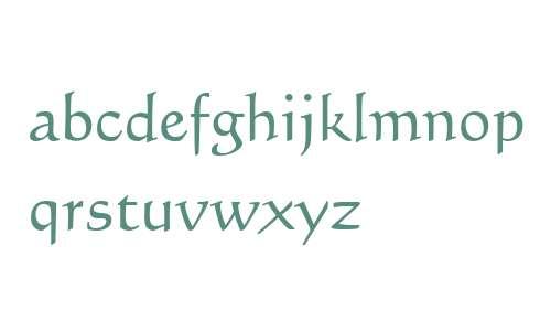 Calligraphic 421 W03 Rom