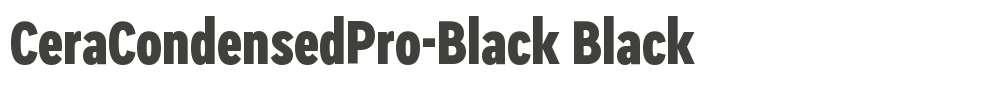 CeraCondensedPro-Black