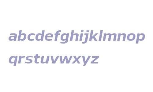 Nauman W00 Bold Italic