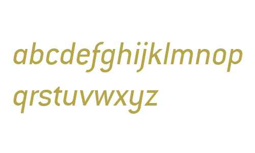 Conduit ITC W04 Italic