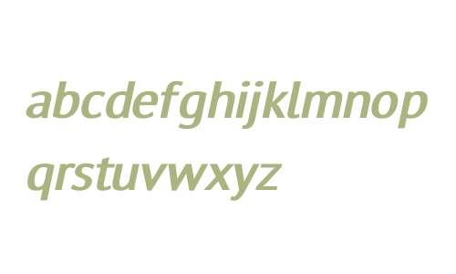 TensorFont Bold Italic