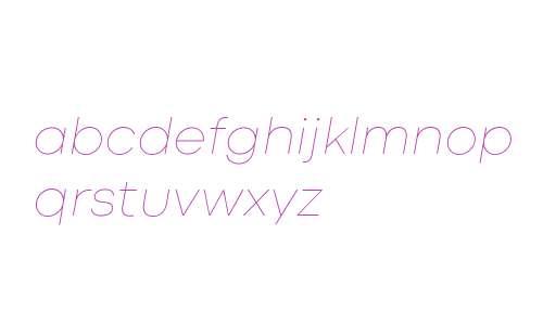 Codec Cold Thin Italic