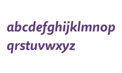Quire Sans W04 Bold Italic