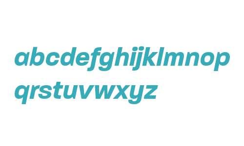 Paralucent W00 Bold Italic