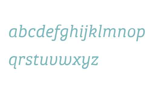 Bree Serif W04 Light It
