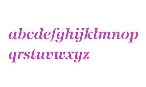 ITC Tiffany Demi Italic