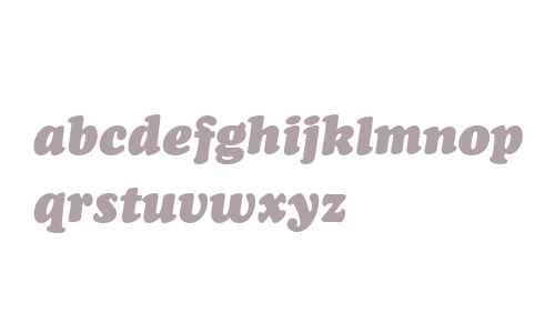 Bitstream Cooper Black Italic