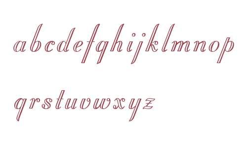 Stuyvesant W01 Engraved
