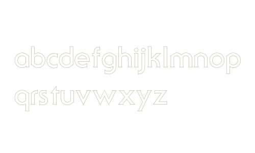 SerifGothicOutline