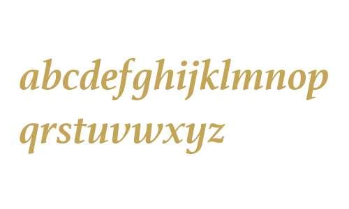 Athelas W01 Bold Italic