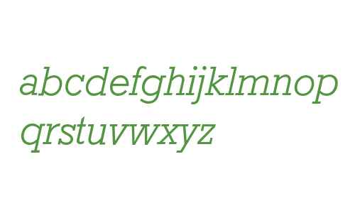 Rockwell* MONOTYPE Light Italic