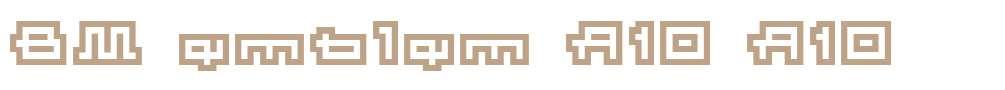 BM emblem A10