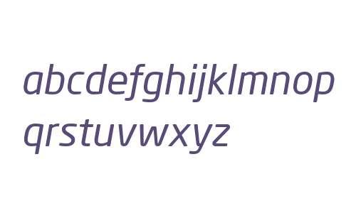 Neo Sans Pro Italic