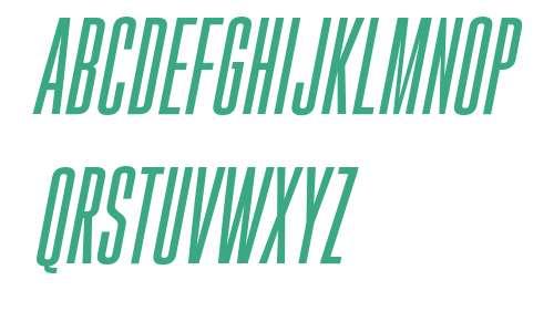 Gobold High Italic Italic