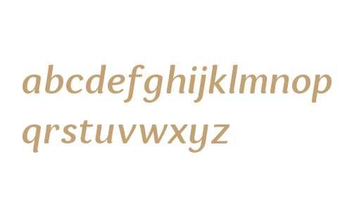 Espuma W01 Medium Italic