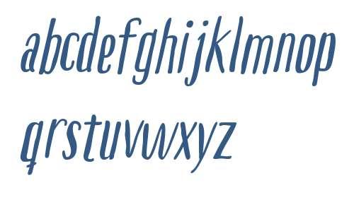 Boho Sans W00 Bold Italic