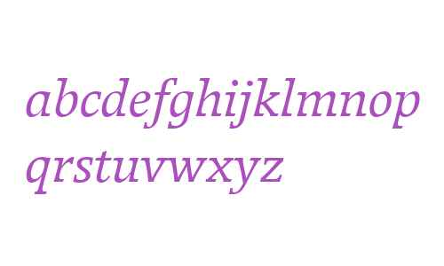 Breughel W04 56 Italic