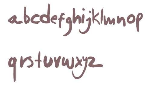 Daniel Werneck's Handwriting