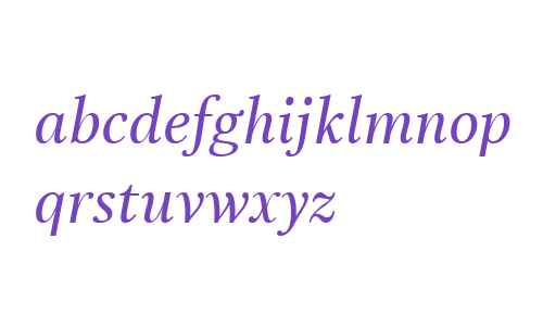 Really LT W02 Medium Italic