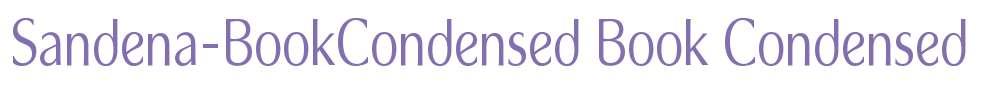 Sandena-BookCondensed