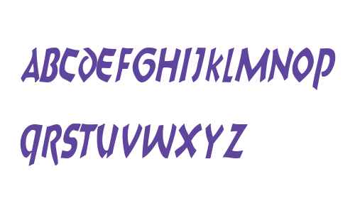 8BallScriptSCapsSSK Italic
