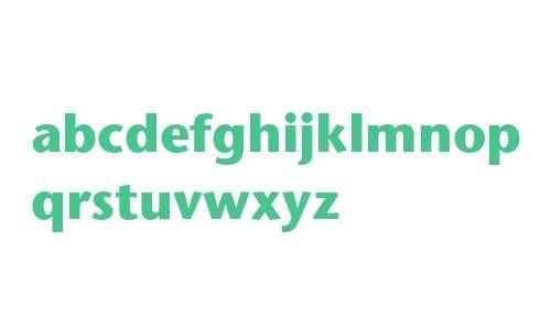 ITC Stone Sans Bold