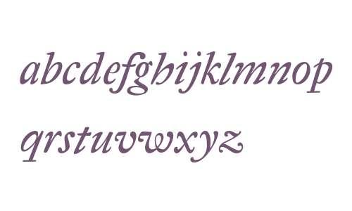 Antique Regent CE Italic