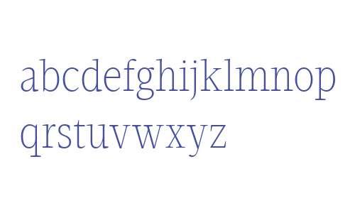 Velino Condensed Text W04 Thin