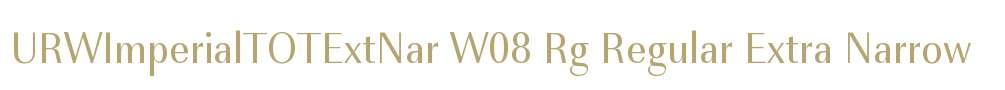 URWImperialTOTExtNar W08 Rg