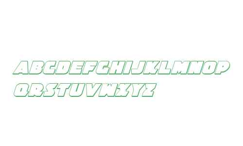 Jedi Special Forces 3D Italic