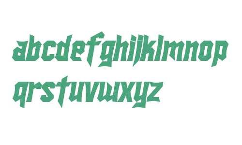 SF Ironsides Bold Italic V1 V2