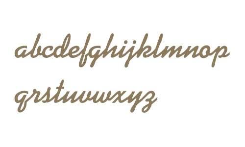 KaufmannScriptBold