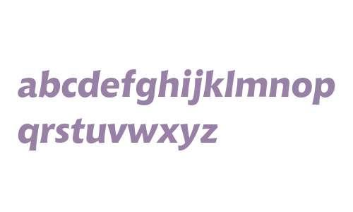 Bitstream Chianti Extra Bold Italic OSF