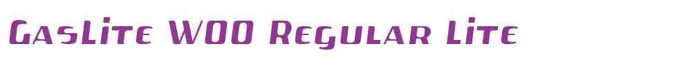 GasLite W00 Regular