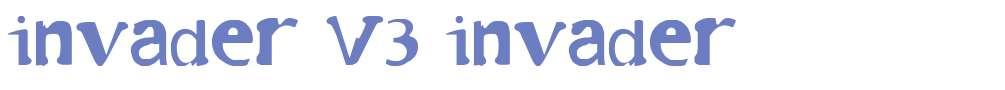 invader V3