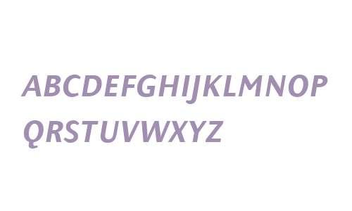 PresenceExpertMedium W90 Italic