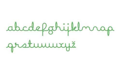 Expletive Script W00 Regular