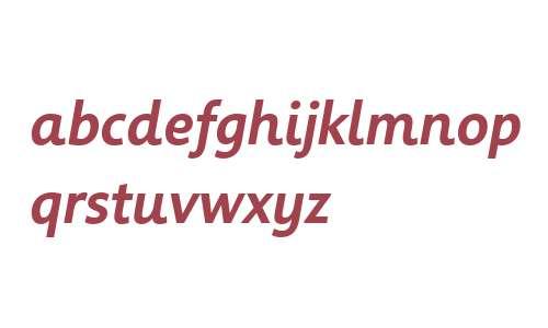 Informa W02 Medium Italic
