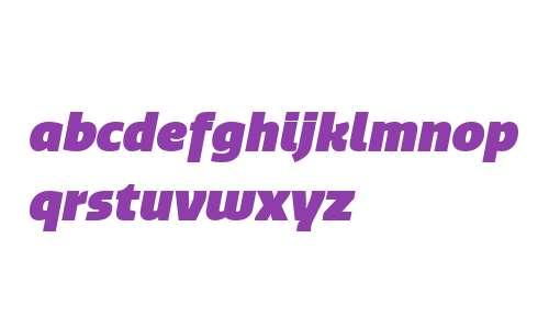 Quatro W03 UltraBlack Italic