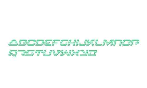 4114 Blaster Chrome Italic